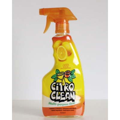 CITRO  100000-500ML CITRO  CLEAN MULTI PURPOSE CITRUS BASED CLEANER  500ml TRIGGER PACK