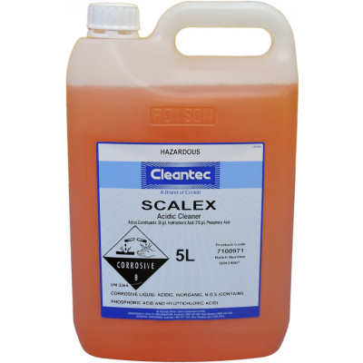CAMPBELL 17528 CAMPBELL  CLEANTEC SCALEX ACIDIC SCALE AND RUST REMOVER 5 LITRES