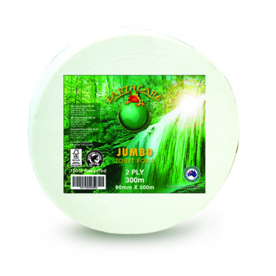 ABC 'Earthcare' Jumbo Toilet Roll 2 ply 3/EC2J300