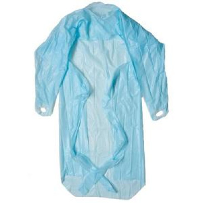 APRONS 300807 STEELDRILL APRONS BLUE 71 X 117CM DISPOSABLE 1000 CARTON