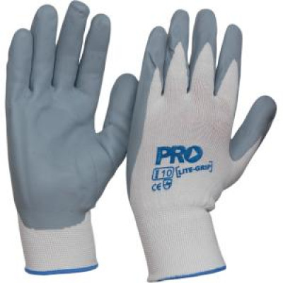 GLOVE  NNF10 LITE GRIP NITRILE FOAM SIZE 10 SINGLE  GLOVE