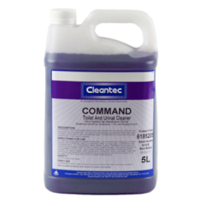 CAMPBELL 6185205 CAMPBELL  CLEANTEC COMMAND TOILET BOWL CLEANER 5 LITRES