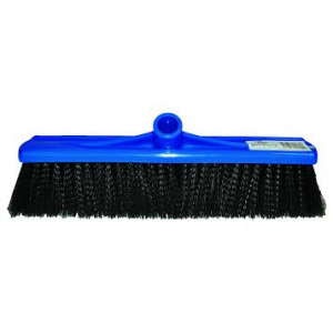 EDCO 10110  BROOM HEAD ONLY 40CM MEDIUM FILL PLASTIC BLUE EDCO