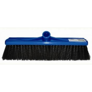 EDCO 10140  BROOM HEAD ONLY 50CM PLASTIC BLUE MEDIUM FILL EDCO