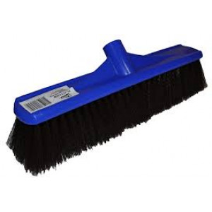 EDCO 10150  BROOM HEAD ONLY 50CM PLASTIC BLUE HARD FILL EDCO
