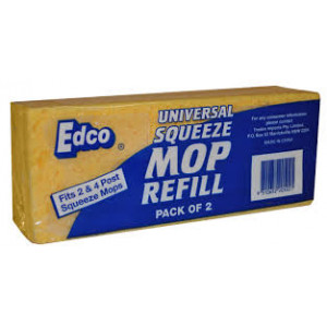 EDCO 18064  SQUEEZE MOP REFILL 2/4 POST UNIVERSAL EDCO