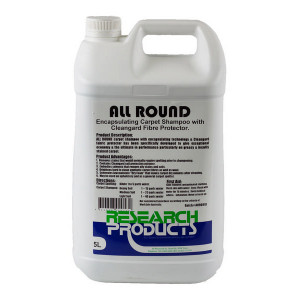 RESEARCH 199015A RESEARCH  ALL ROUND CARPET SHAMPOO 5 LITRES