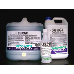 RESEARCH  200015A RESEARCH  SURGE CARPET PRESPRAY 5 LITRES