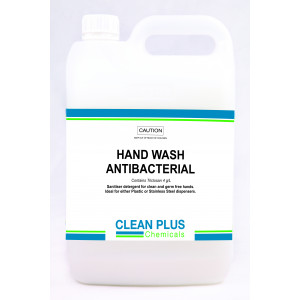 FRESH-BREEZE 36002 FRESH-BREEZE HAND SOAP ANTIBACTERIAL PEARL 5 LITRES