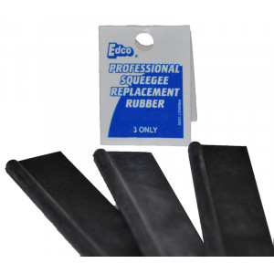"EDCO  41185 WINDOW SQUEEGE RUBBER ONLY 18""45CM  EDCO"