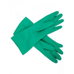 RUBBER 443004-9 RUBBER  GLOVE GREEN PREMIUM SILVER LINED LGE 9 1 PAIR