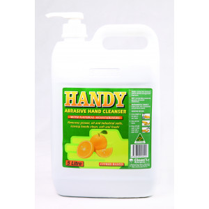 FRESH-BREEZE 45002CP FRESH-BREEZE HANDY-PUMICE GRITTY WORKMANS SOAP WITH PUMP 5 LITRES