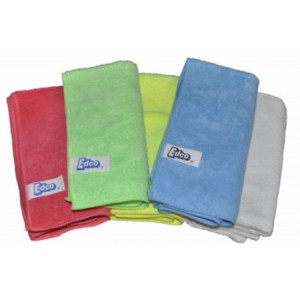 EDCO  58002G MERRYFIBRE MICROFIBRE CLOTH GREEN PACK OF THREE  EDCO