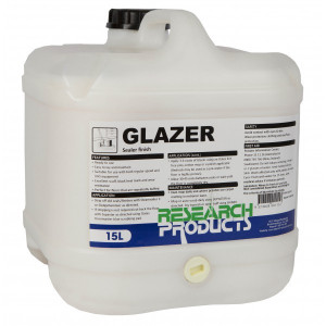 RESEARCH 602015 RESEARCH  GLAZER FLOOR SEALER FINISH 15 LITRES