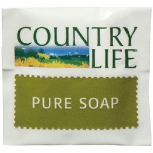 COUNTRY 0803 COUNTRY LIFE GUEST SOAP WRAPPED 15grm 500 CARTON