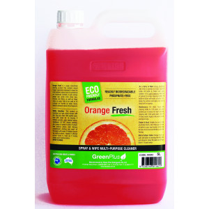 FRESH-BREEZE ORANGE FRESH ECO FRIENDLY SPRAY AND WIPE 5 LITRES