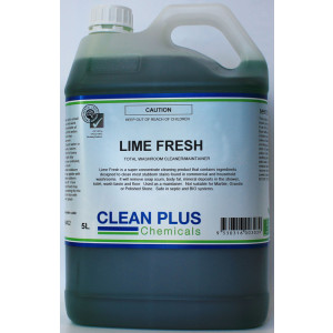 FRESH-BREEZE 84402 FRESH-BREEZE LIME FRESH ECO FRIENDLY TOILET AND BATHROOM CLEANER 5 LITRE
