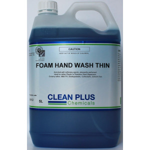 FRESH-BREEZE 90102 FRESH-BREEZE FOAM HAND SOAP BLUE FOR BULK FOAM SOAP DISPENSERS 5LTR