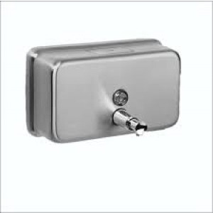 STAINLESS A-600S STAINLESS STEEL SOAP DISPENSER HORIZONTAL