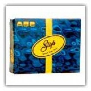 ABC  ABC-72 ABC  TOILET PAPER INTERFOLD TOILET TISSUE 1PLY 160SHT 72PCK ABC