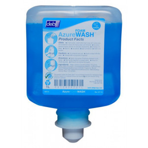 DEB AZU1L DEB  AZURE MILD FOAM SOAP BLUE CARTON OF 6 X 1LITRE
