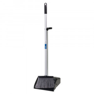 OATES B-11115 OATES LOBBY DUSTPAN COMPLETE HEAVY DUTY WITH BROOM