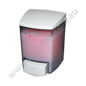 GALA  BSOC9330 SOAP DISPENSER GALA ENCORE 900ML WHITE LOGO FOR BULK FILL SOAP