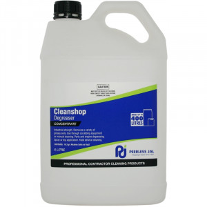 PEERLESS  CLESHO5 PEERLESS CLEANSHOP HEAVY DUTY SHOP CLEANER DEGREASER 5 LITRES