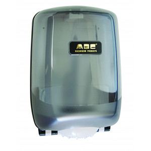 ABC  DISPENSER CENTREFEED HANDTOWEL PLASTIC TO SUIT CENTREFEED HAND TOWEL