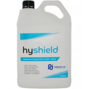 PEERLESS HYSHIE5 PEERLESS HYSHIELD GLOSS HYBRID SEALER ULTRA HIGH SOLIDS 5 LITRES