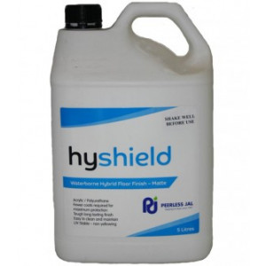 PEERLESS HYSHMA5 PEERLESS HYSHIELD MATT FLOOR FINISH ULTRA HIGH SOLIDS 5 LITRES