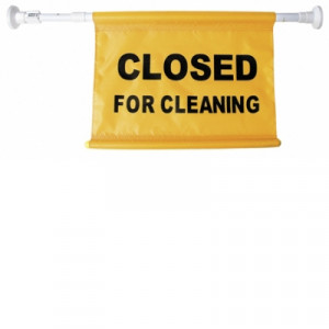 OATES JA-005 OATES  SAFETY SIGN HANGING DOORWAY