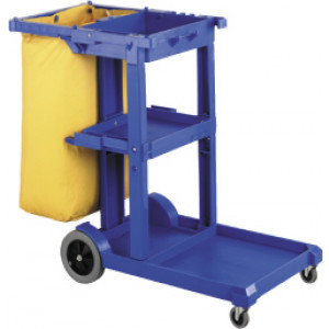 SABCO JANITOR TROLLEY CART COMPLETE