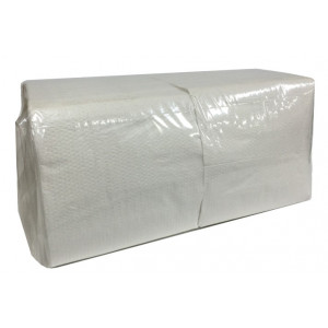 ABC  A-111/3000W ABC  SERVIETTES LUNCHEON 1PLY WHITE 300X300MM 500 PACK 3000'S
