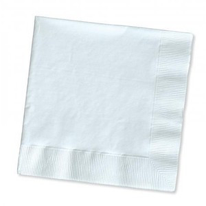 ABC  A-216W ABC  SERVIETTE PREMIUM DINNER 2ply WHITE 400mmx400mm 1000's
