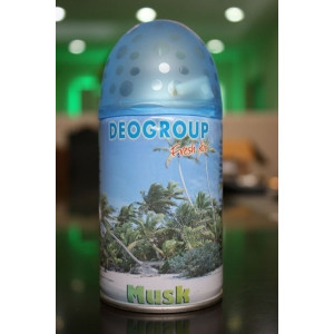 AIR  DG-MUSK AIR  FRESHENER REFILL AEROSOL 300ML MUSK FOR AUTO DISPENSER