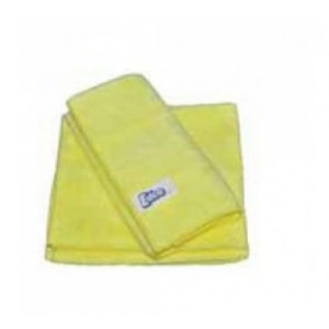 EDCO  58002Y MERRYFIBRE MICROFIBRE CLOTH YELLOW PACK OF THREE  EDCO