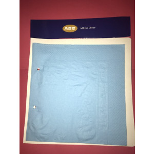 ABC  L-213B ABC  SERVIETTES LUNCHEON 2PLY LIGHT BLUE 315X315MM 2000'S