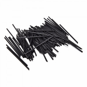 COCKTAIL  SCOC/BL COCKTAIL  STRAWS BLACK 140mm SHORT 5000 IN CARTON