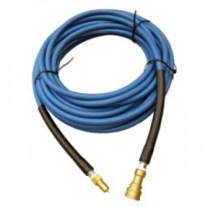 SH7.5  SOLUTION HOSE FOR SHAMPOO MACHINE WITH  BRASS CONECTOR 7.5M