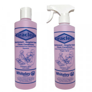 Whiteley Viraclean Hospital Grade Disinfectant 500ML Spray Bottle 210564